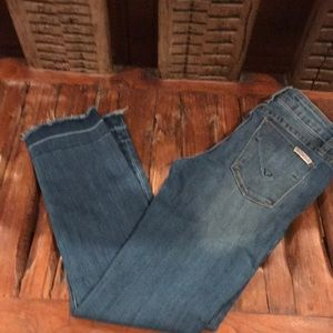 Girls Hudson cropped jeans